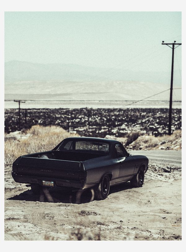 Men'sCars Series _ Alex & his El Camino by Laurent Nivalle, via Behance