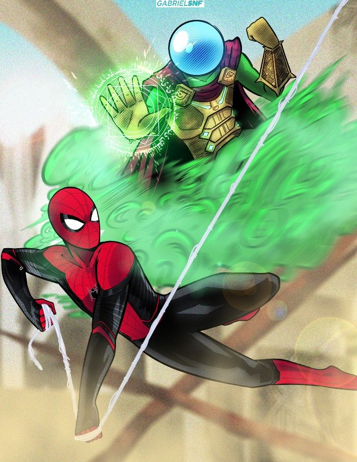 Spider Man Vs Mysterio Far From Home Stuff To Buy Mysterio