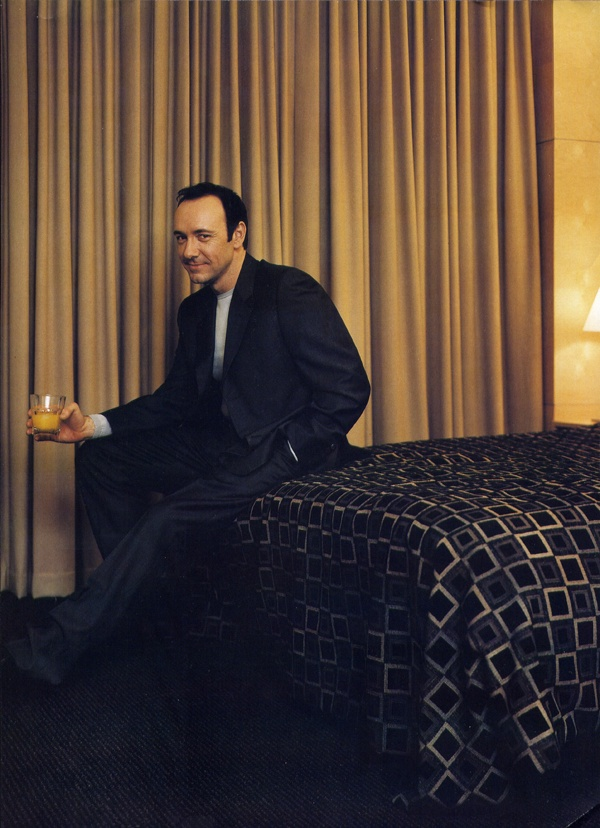 Kevin Spacey by Julian Broad