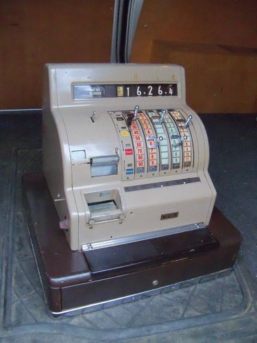 Vintage Ncr Cash Register Shop Till 1950 S Ebay