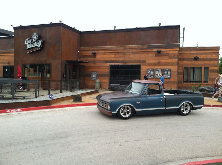 Hunters 67 field find in front of Gas Monkey Bar & Grill 2014