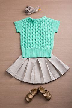 .: Kids Outfits, Mint Green, Wool Pleated, Skirts Lights, Kids Fashion, Kids Clothing, Kidsfashion, Pleated Skirts, Lights Gray