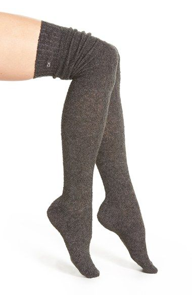 Calvin Klein Bouclé Over the Knee Socks available at #Nordstrom