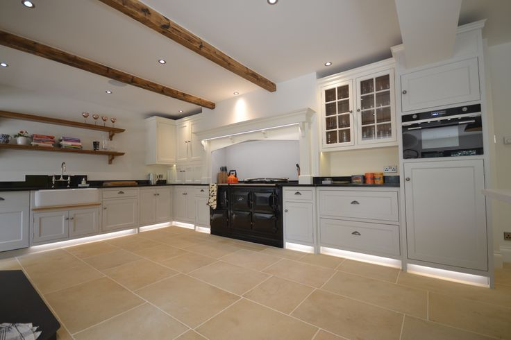 A wonderfully spacious kitchen that we've designed with both modern and classic features, to create a rustic and country feel with a stylish and luxurious finish #joinery #kitchen #sussex #interiors