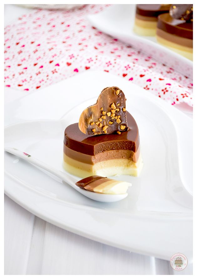Especialmente Dulce: Mini tartas cuatro chocolates y La Chocolaterapia