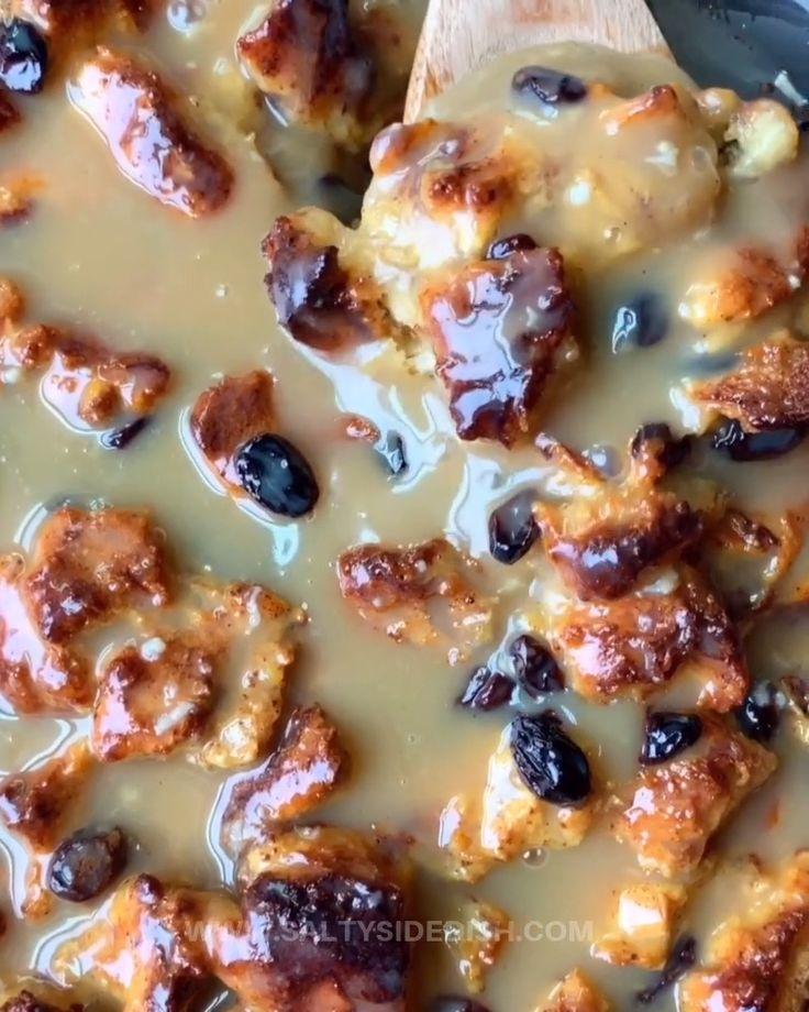 Apr 6, 2020 – Apple Cinnamon Bread Pudding with Custard Glaze makes for a delicious and unique bread pudding using brioc…