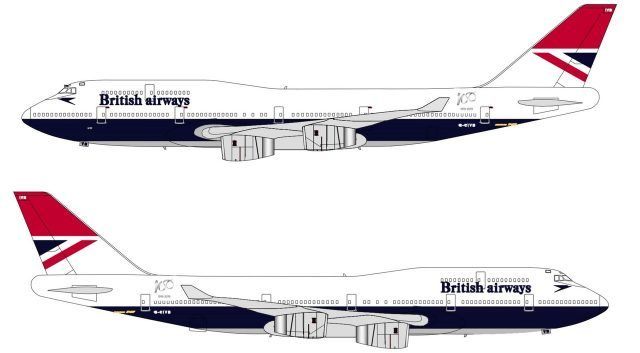 Fourth And Final British Airways Retro Livery Revealed International Flight Network British Airways British European Airways Flight Network
