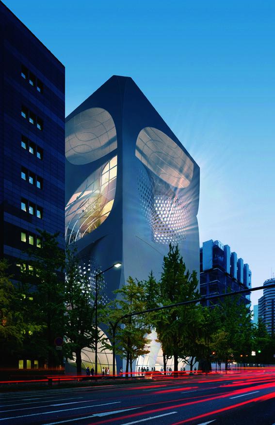 Louis Vuitton, Osaka Japan by UNSTUDIO