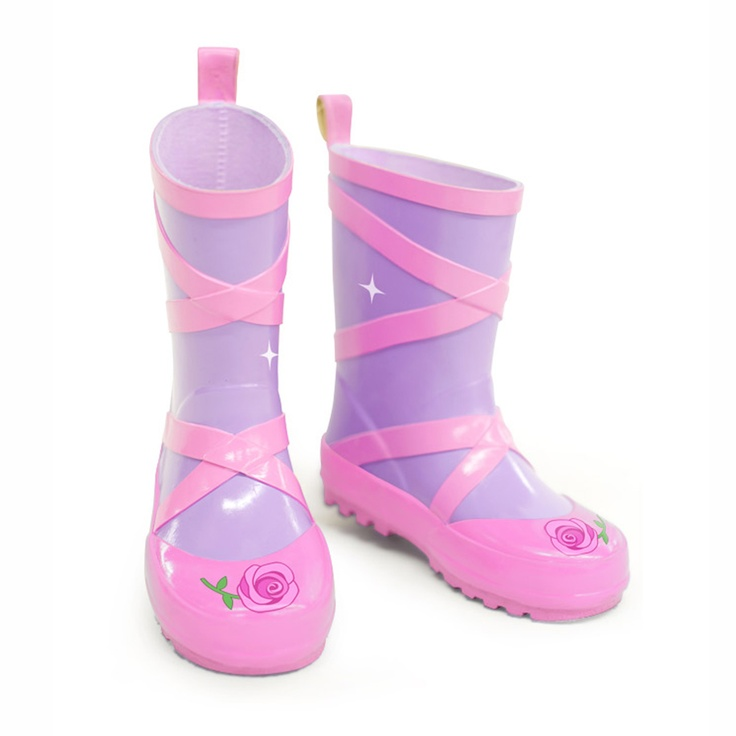 Kidorable Ballerina Rain Boots