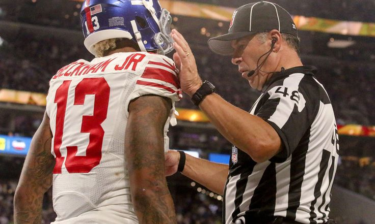 Report claims Giants could bench WR Odell Beckham = Giants' WR Odell Beckham has been struggling lately in a number of ways. It's clear that CBs that he faces are able to get into his head, and they're doing it on purpose. That's leading to sideline outbursts, on-field fights, and.....