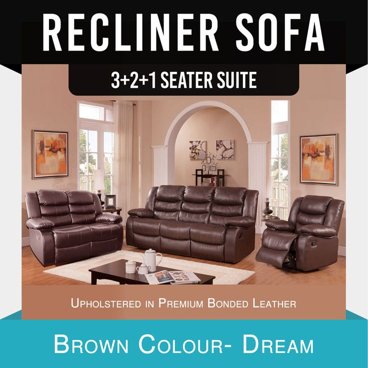 Recliner 3R+2R+1R Lounge Brown Leather Dream ✪ Pre Sale ✪ ETA- 15th Nov 2017 ✪ & Best 25+ Brown leather recliner ideas on Pinterest | Brown leather ... islam-shia.org