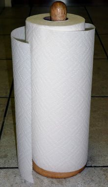I find it impossible to live without paper towel. I want it strong, absorbent and select-a-size. Without paper towel we live in a world of more laundry and most importantly germs. Every year I give away a mini-vacation, I'm sure, to  buy paper towel. It's totally worth it to me!!