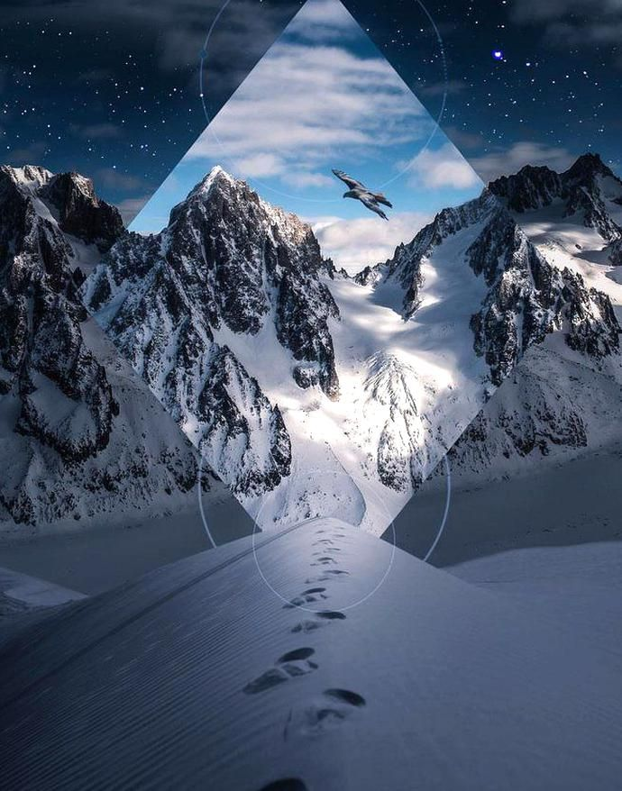 What Do You Think Of This Digital Art Landscape I Love How The Mountains Draw Your Eyes In As You Take In This Digital Ar In 2020 Travel Art Landscape Perspective Art