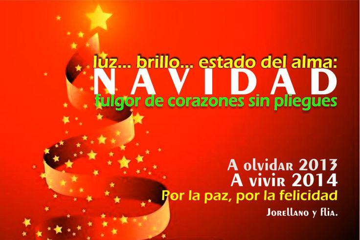 Tarjeta de navidad de mi colega y amigo José Orellanos Niebles