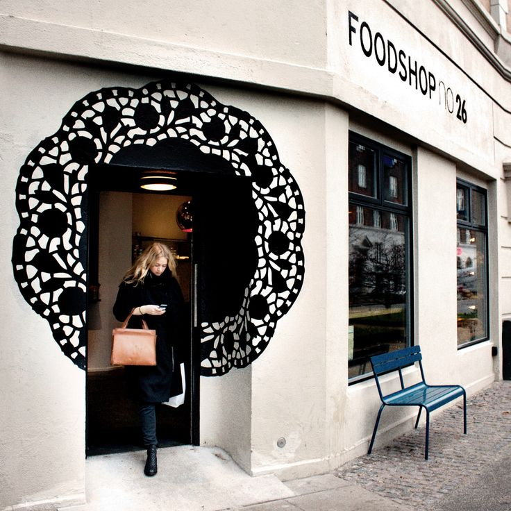 1pin:Foodshop NO. 26 Storefront #restaurant #design
