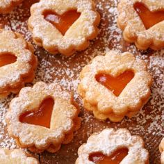 A Pretty and very yummy recipe for jam filled cookies. These are a family favorite sweet treat.. Apricot Jam filled Sugar Cookies Recipe from Grandmothers Kitchen.