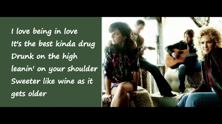 Sober - Little Big Town (Lyrics on Screen)