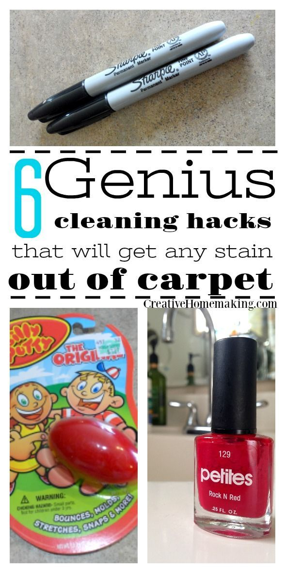 Trying To Get A Stubborn Stain Out Of Your Carpet These Genius