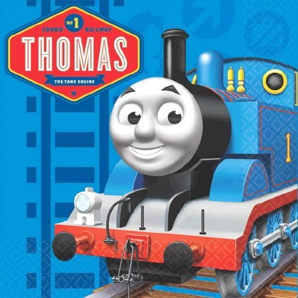 Thomas the Tank Engine Beverage Napkins [16 per Pack]