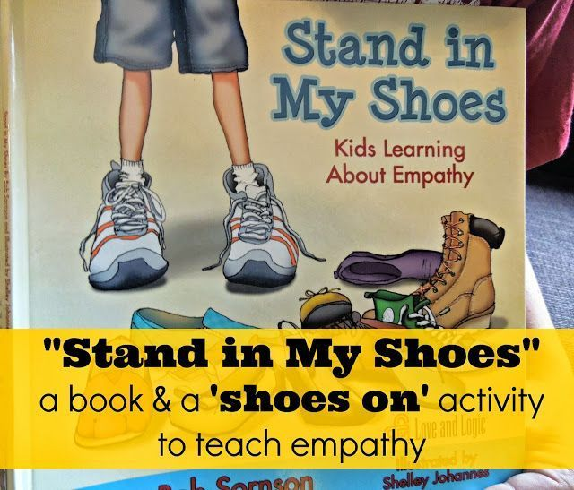 """""""Stand in My Shoes"""" a book about teaching #empathy and #kindness. And, how we used a quick activity after reading the book to further develop empathy in our #family Teach kids to serve!"""