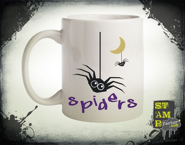 Spiders (Version 02) 2015 Collection - © stampfactor.com *MUG PREVIEW*