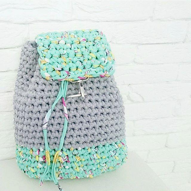 Рюкзак кому?!  ⛔ продан ------------ #lanovski #handmade #sale #ukraine #knit #knitting #crochet #knittingforsale #yarn #cotton #madeinukraine #ukraine #knittersofinstagram #accessories #ручнаяработа #украина #fashion #fashionista #stylish #bag #backpack #рюкзак