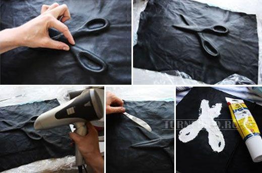 Идея: выпуклые рисунки на коже - просто и эффектно!