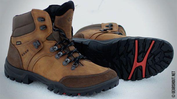 Первые впечатления от высоких ботинок для пешего туризма ECCO Xpedition III GTX