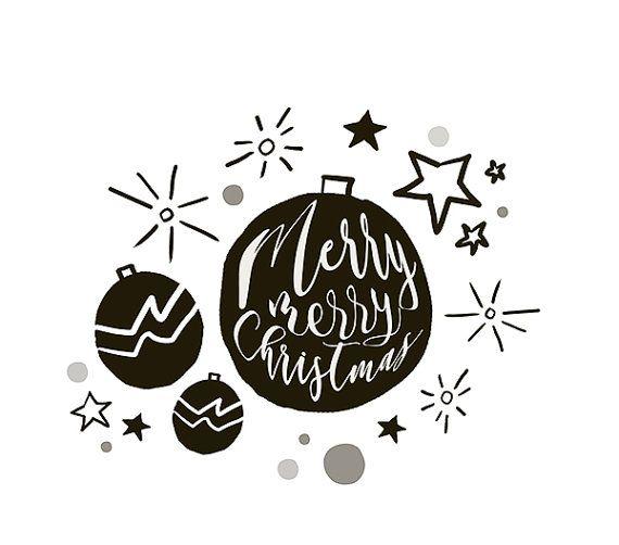 Christmas clipart, | Cute christmas clipart | Christmas card | Christmas decorations | Santa | Holidays | Diy Christmas Card | Clipart | Snowman  Questa collection è un set di 25 clipart: 25 elementi grafici di Natale disegnati a mano. Questo set è perfetto per da usare in scrapbooking, inviti di festa, biglietti di auguri, decorazioni e molto altro ancora!!  I file sono in una risoluzione di 300 dpi per permettere una stampa di qualità anche in grandi dimensioni.  Larchivio zip contiene:  ♥…