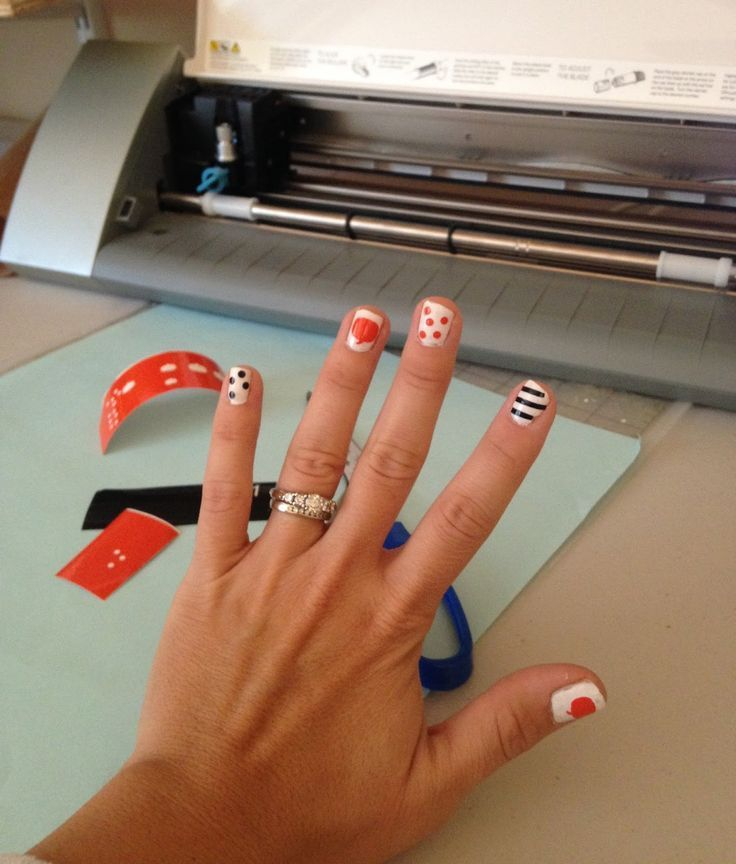 284 best Silhouette Nail Decals images on Pinterest | Nail decals ...