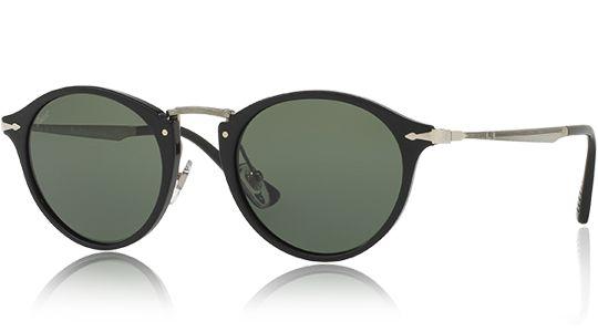 Persol PO3166S 95/31 sunglasses Acetate/Metal Black  Grey