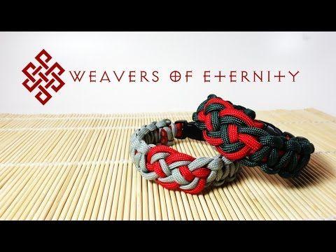 How to Tie an Eternity Solomon Paracord Bracelet Tutorial - YouTube