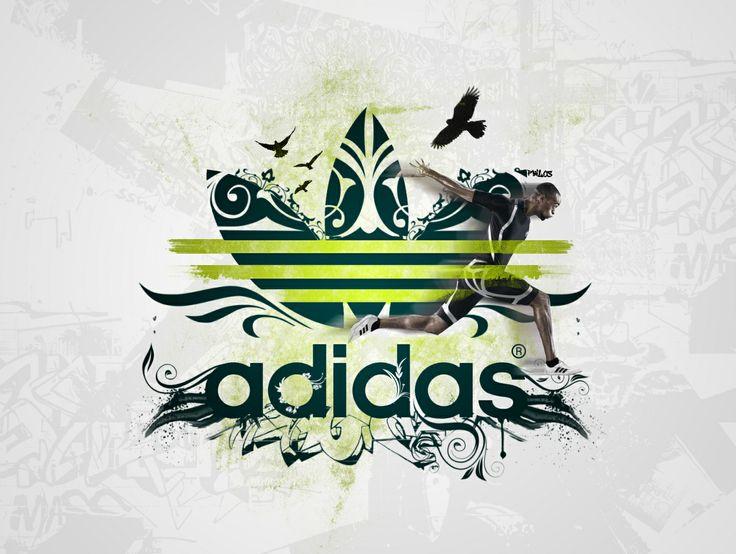Adidas logo, love ADIDAS