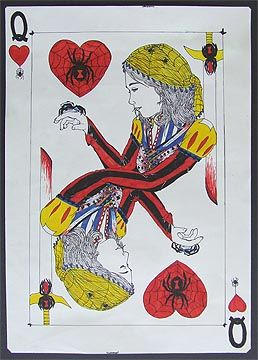 Self-Portrait Playing Card      This site has a lot of lesson plans