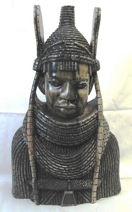 Benin Art | ... african art, african masks, Oba of Benin, Nigerian art, wood carving