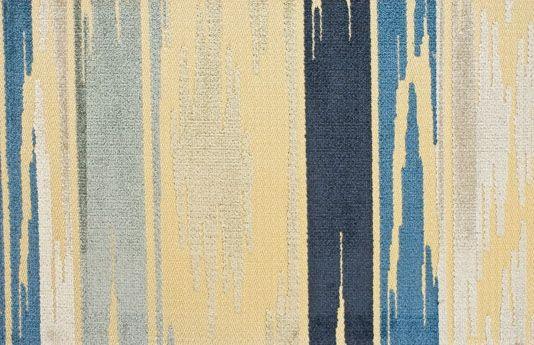 Birch Velvet Upholstery Fabric Indigo | Mulberry Home Weekend Velvet Collection