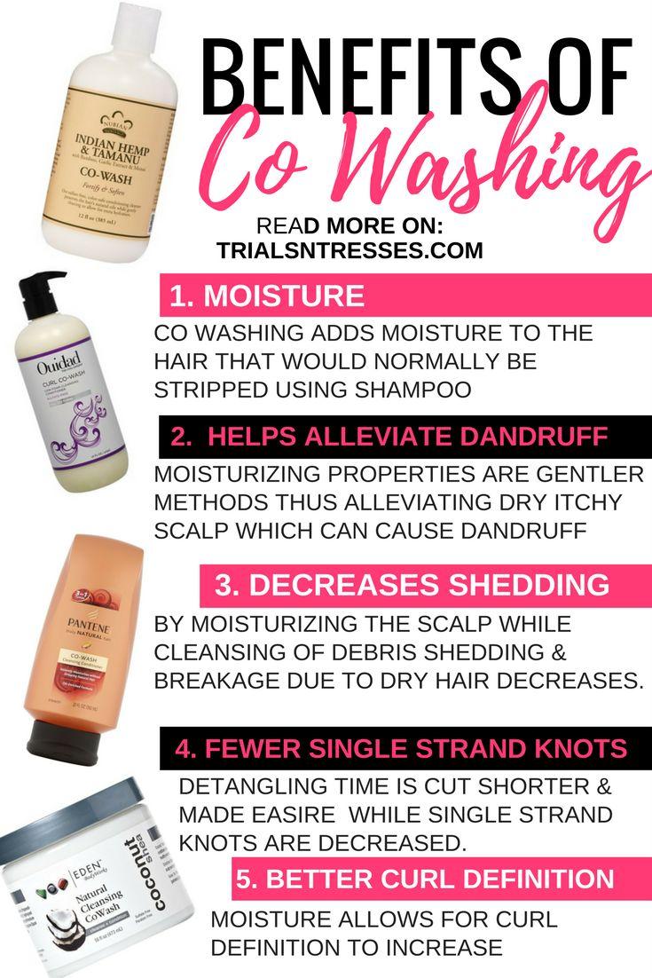 Benefits Of Co- Washing Natural Hair