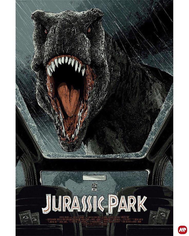 Jurassic Park by Kako @kakofonia