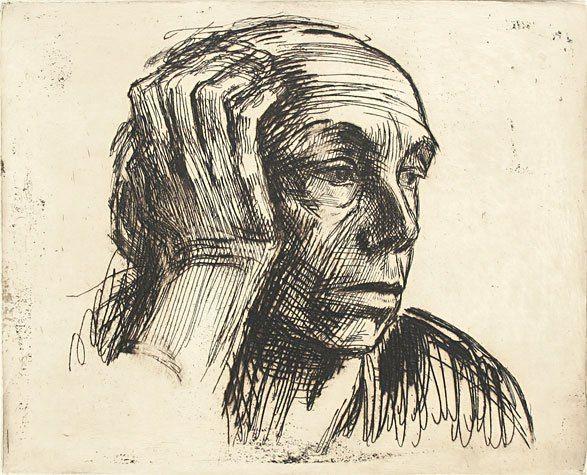 Line Drawing Portrait Artists : Best kathe kollwitz images drawings etchings
