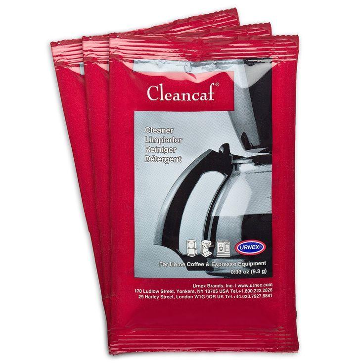 Personal Edge : Urnex ® 14-CL12-3-13 Cleancaf® Coffee Machine cleaning powder 3x9.3g