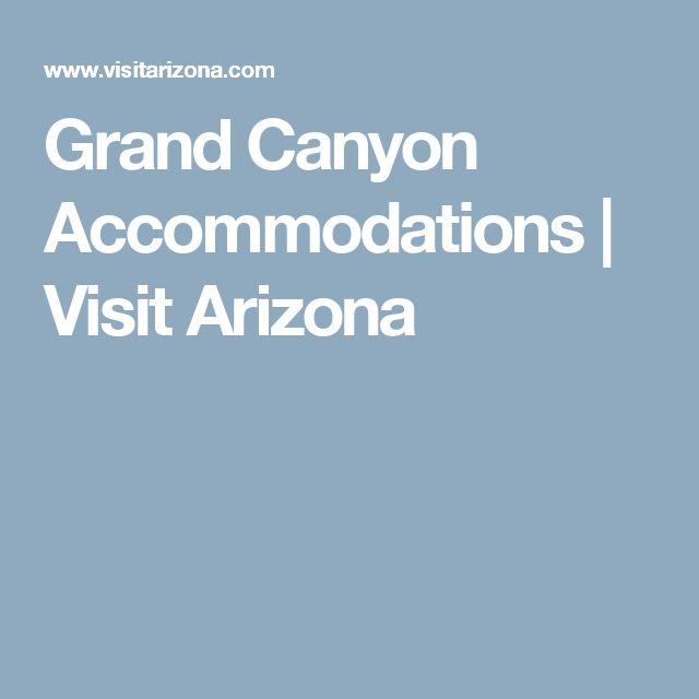 Grand Canyon Accommodations | Visit Arizona