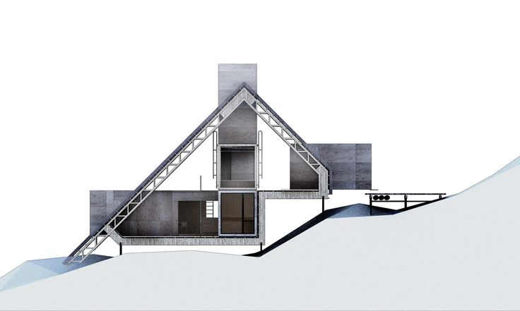 tegnestuen vandkunsten: arctic building