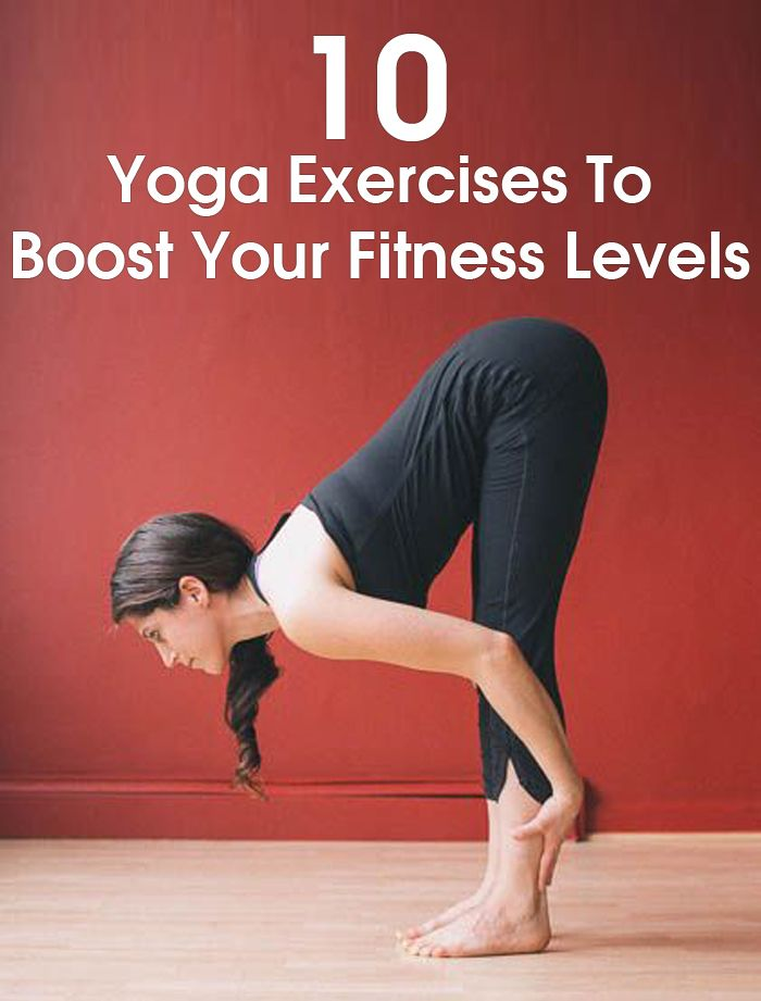 Top 10 Yoga Exercises To Boost Your Fitness Levels by stylecraze #Fitness #Yoga