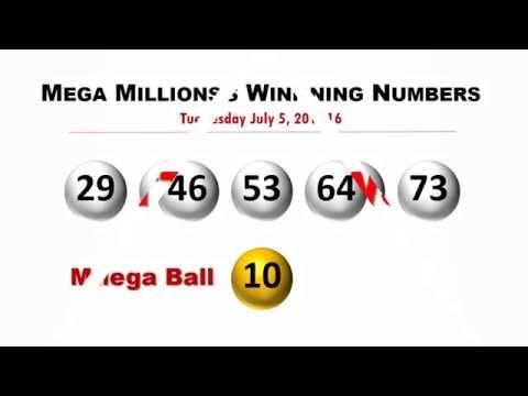 Mega Millions Winning Numbers Tuesday July 5, 2016 - (More info on: https://1-W-W.COM/lottery/mega-millions-winning-numbers-tuesday-july-5-2016/)