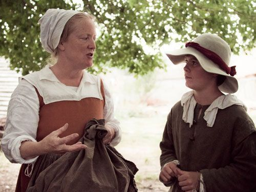 """Talk Like a Pilgrim~ List of common phrases and historic expressions with audio. For example, instead of saying, """"Congratulations!"""" the Pilgrims might have said, """"Huzzah!"""""""