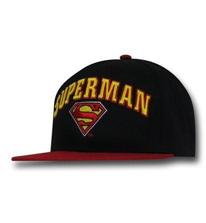 Superman Embroidered Logo Cap