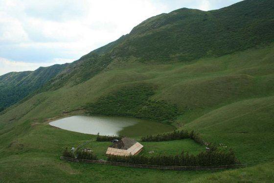 Beautiful Romania : Eagles Lake,Buzau.