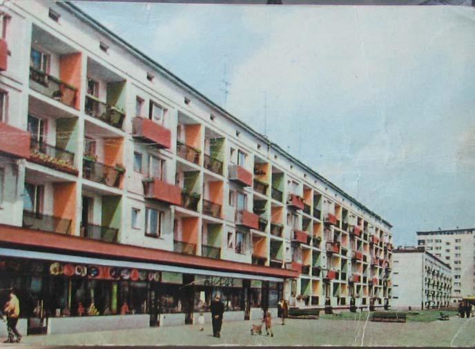 NOWA HUTA Aleja Planu Sześcioletniego RUCH 1965