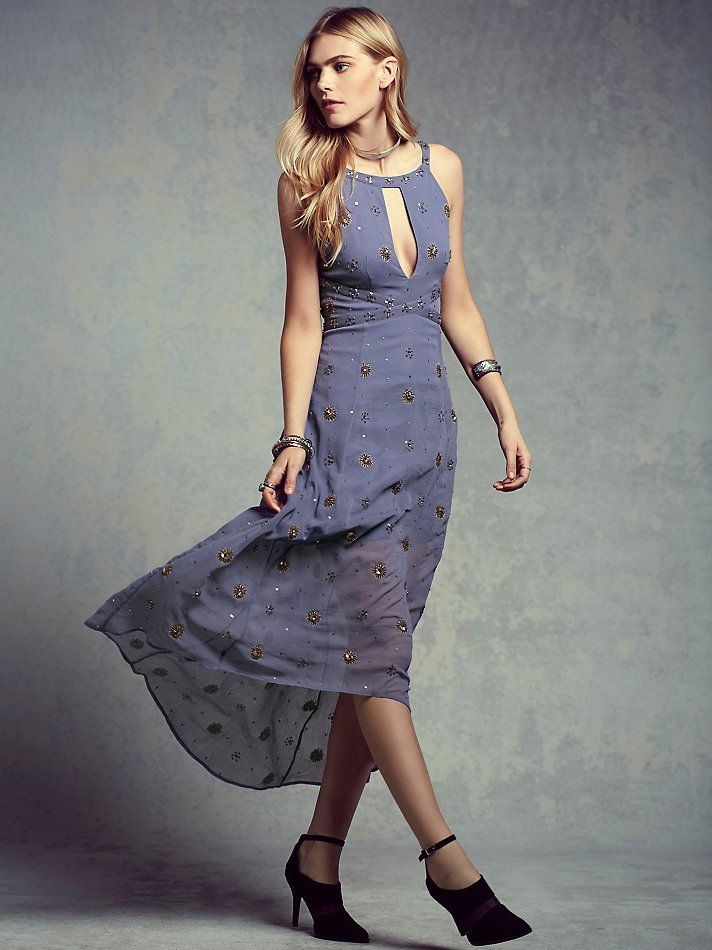 Free People Beaded Beauty Dress at Free People Clothing Boutique