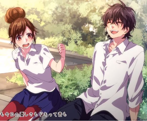 # 恋色に咲け/HoneyWorks # Manga # Anime